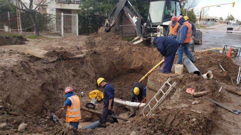 EPAS finalizó la reparación del acueducto y comienza a regularizarse el servicio