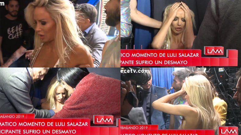 El anticipo del falso desmayo de Luciana Salazar en Showmatch