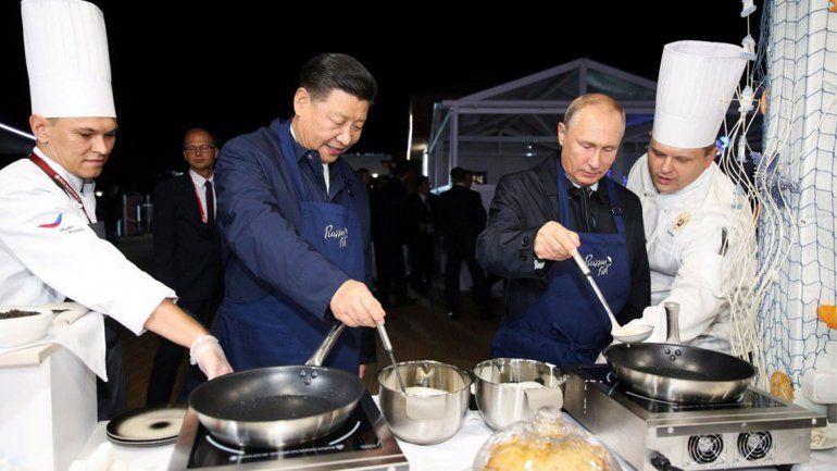 El presidente chino dijo que Putin es su amigo más cercano