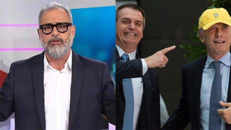 Rial comparó a Macri y Bolsonaro con Tonto y Re Tonto y le llovieron críticas