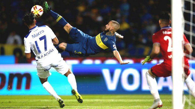 Pipo banca al Pipa: Benedetto fue el mejor de Boca