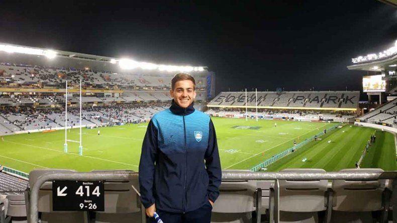 La increíble experiencia de Agustín, un ejemplo en el rugby y en la vida