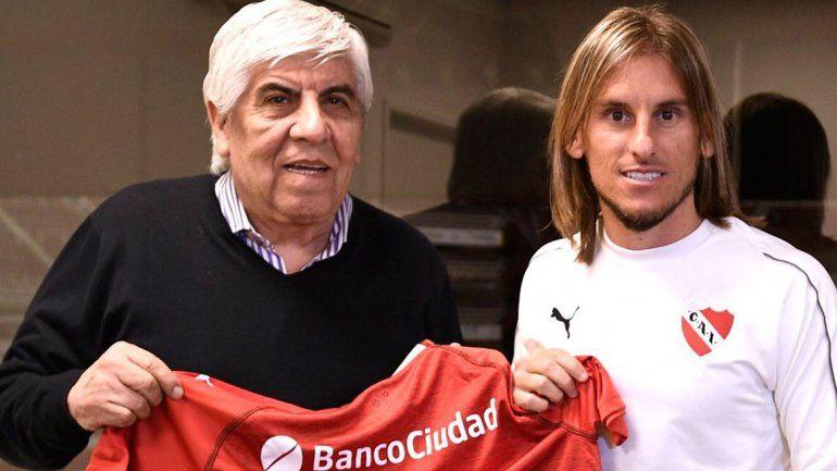 Es un reto hermoso dirigir  a Independiente