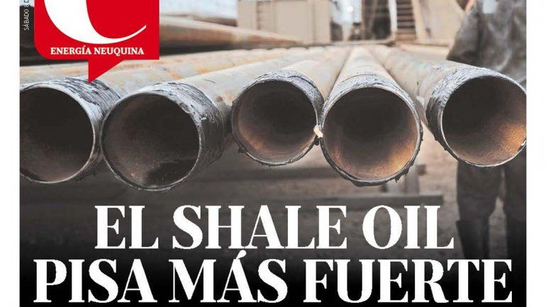 El shale oil pisa más fuerte