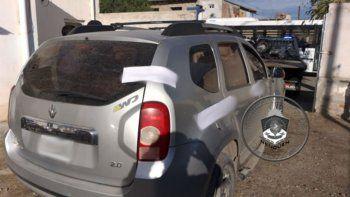atraparon a un hombre que robo tras inhibir la alarma de un auto