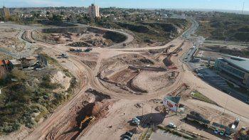 las obras del nodo vial en la rotonda tienen 18% de avance