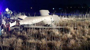 murio un piloto al estrellarse su avioneta en buenos aires