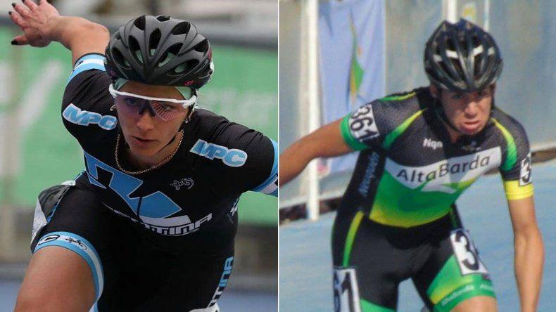 Vicky Rodríguez y Fran Reyes se ilusionan con traer una medalla