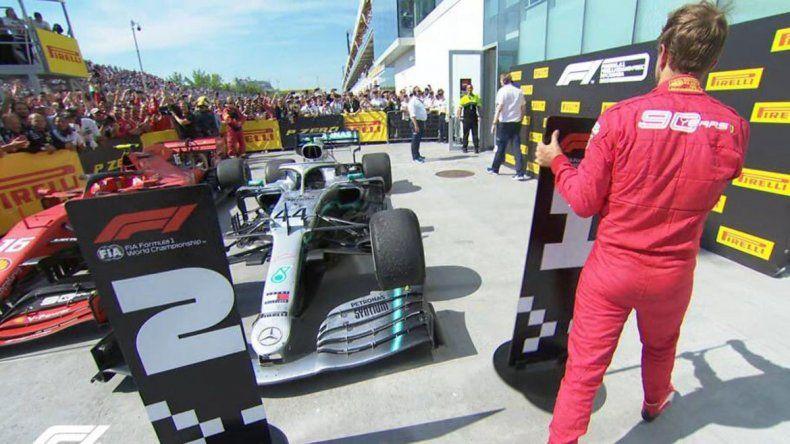 Video: la polémica reacción de Vettel tras la sanción que lo bajó del triunfo en Canadá