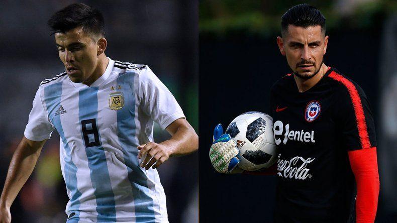 Neuquén Copa América con el Huevo Acuña y Gabriel Arias