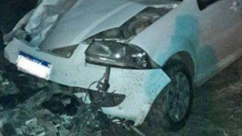 un taxista borracho se cruzo de carril y mato a un motociclista: la victima era su primo