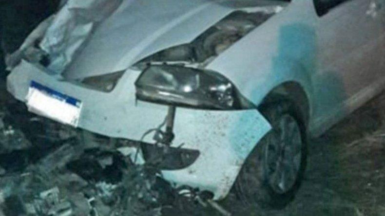 Taxista borracho se cruzó de carril y mató a un motociclista: era su primo