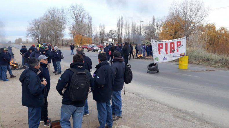 Los trabajadores de la PIAP pidieron respuestas en Casa de Gobierno