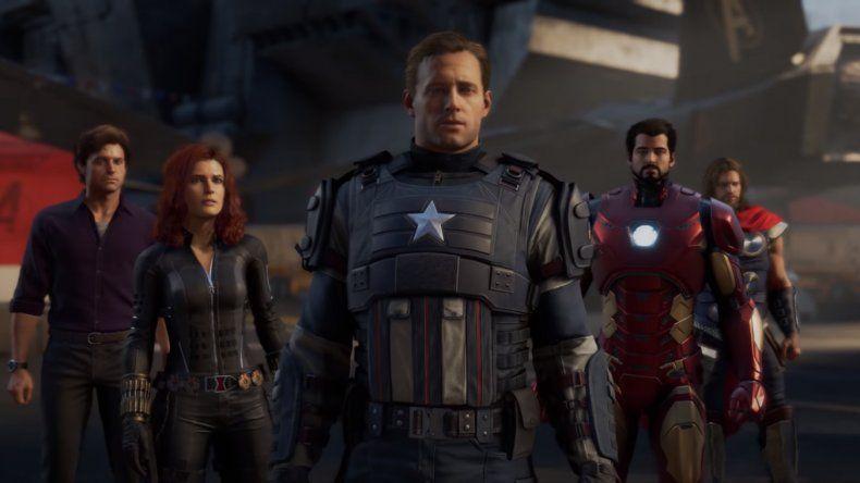Los Vengadores responden al llamado del deber.