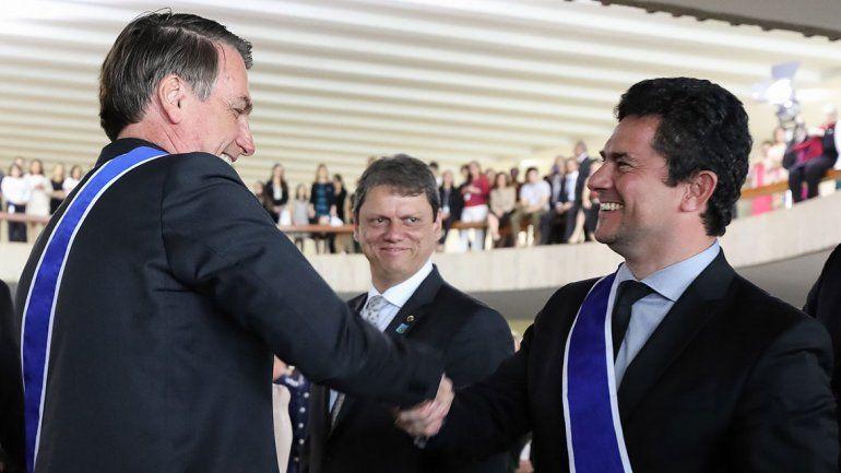 Bolsonaro premió a Moro y Lula pide por su libertad