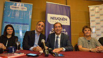 provincia acordo con petroleras un programa de capacitacion docente