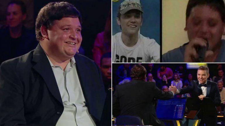#MillonarioTelefe: Del Moro hizo competir a un amigo de MuchMusic con un oscuro pasado por las drogas