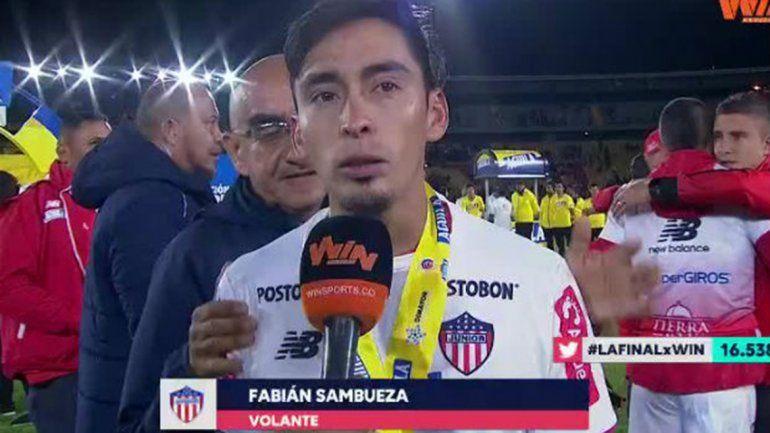 Neuquino en la gloria:Sambueza bicampeón y figura en Colombia