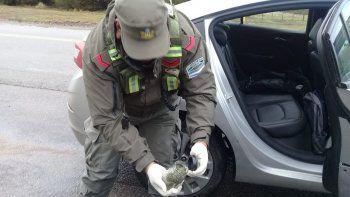 atraparon a dos hombres con al menos cuatro tipos de drogas