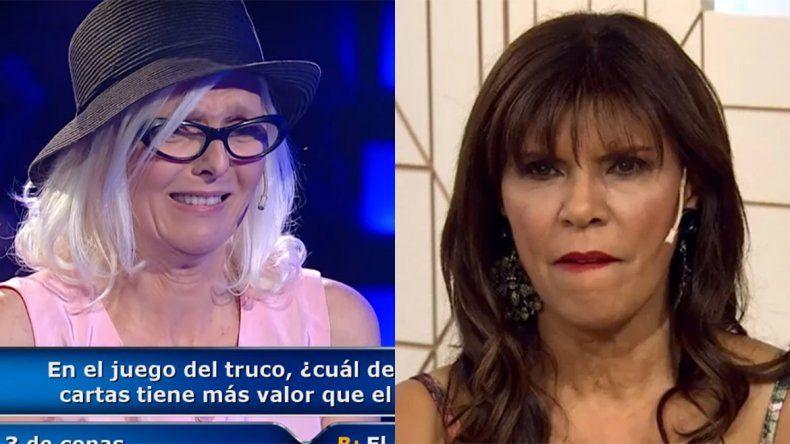 Anamá Ferreira explotó contra una participante de ¿Quien quiere ser millonario? y la escrachó en Twitter