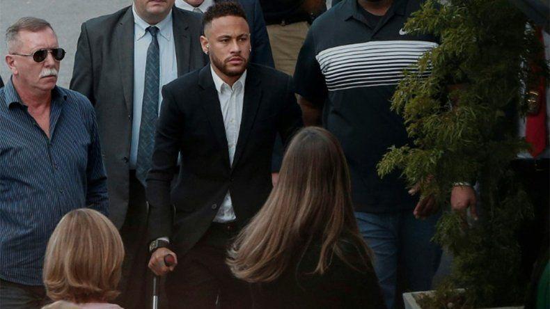 La justicia archivó la denuncia contra Neymar por una supuesta violación