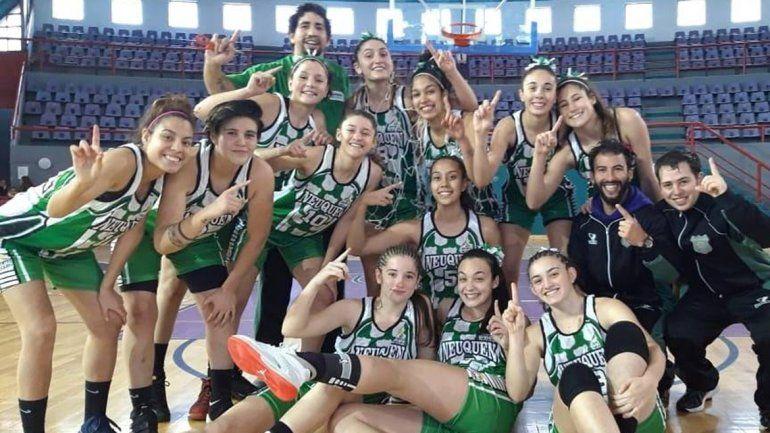 ¡Histórico! Las chicas del U19, campeonas argentinas de básquet