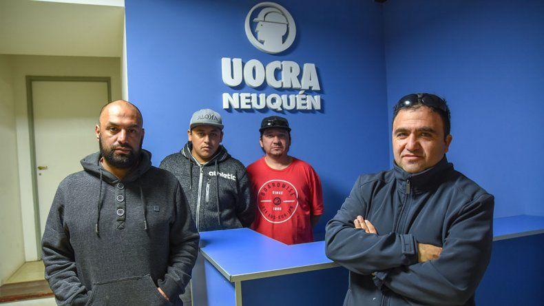 Abren negociaciones con Buenos Aires para solucionar la toma de la sede central de la Uocra Neuquén