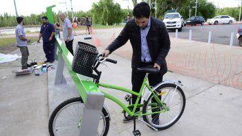 fomentan el uso de la bici para hacer tramites en la anses