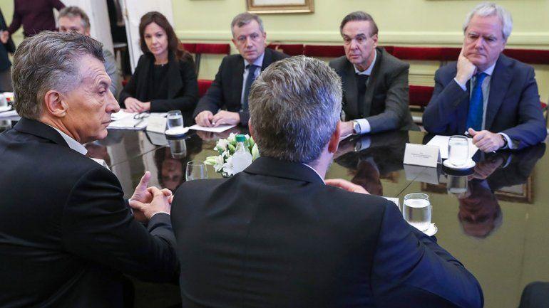 Macri ya le hizo un lugar a Pichetto en la Casa Rosada