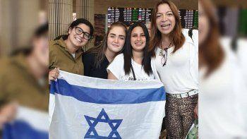 lizy tagliani, demorada en israel por su pasaporte