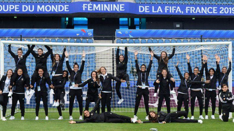 Las chicas buscan hacer más historia ante Inglaterra en el Mundial de Francia
