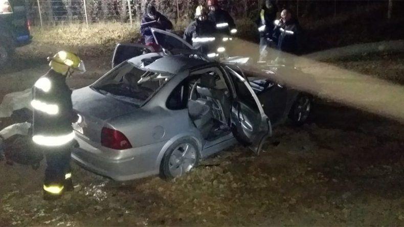 Dos jóvenes murieron al chocar contra un caballo en la Ruta 7 a la altura de Tratayén