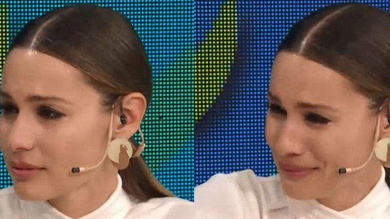 Pampita se emocionó al hablar de una película que le recuerda a su hija