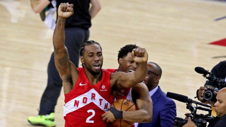 Toronto y Leonard, los nuevos reyes de la mágica NBA