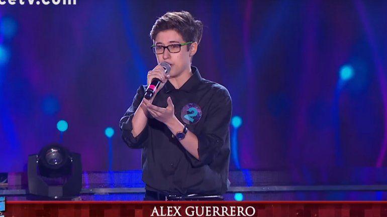 El neuquino Alex Guerrero no pudo avanzar hacia la finalísima de Genios