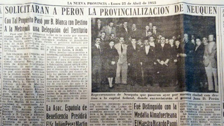 ¿Por qué hoy la provincia de Neuquén cumple 64 años?