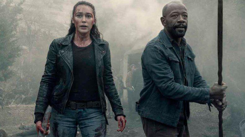 El lunes empieza la quinta temporada de Fear the Walking Dead