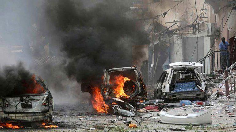 Dos explosiones dejan 13 víctimas fatales en Somalia