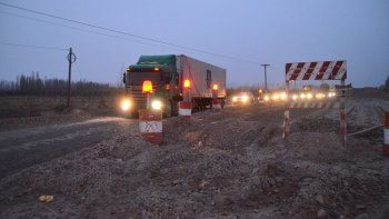weretilneck: la obra de la ruta 22 es  un desastre