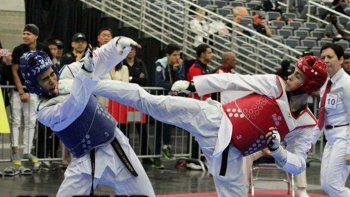 ¡very good! neuquino de oro en el panamericano de taekwondo