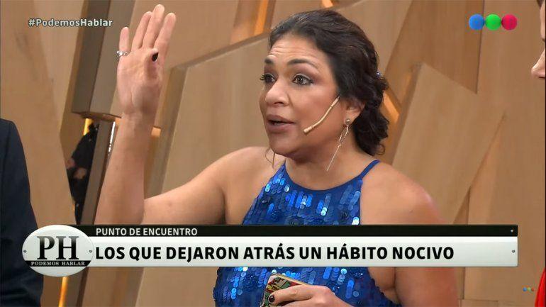 Claribel Medina se abrió y reveló su lucha contra el alcohol en PH