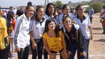 futbol femenino: pacifico, vidriera para neuquen
