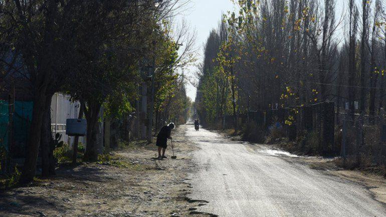 Reclaman por el abandono de la calle Futaleufú