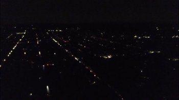 fotos y videos: asi se vio el apagon en la ciudad de neuquen