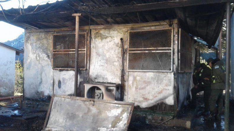 Por un incendio debieron cerrar el paso internacional Icalma