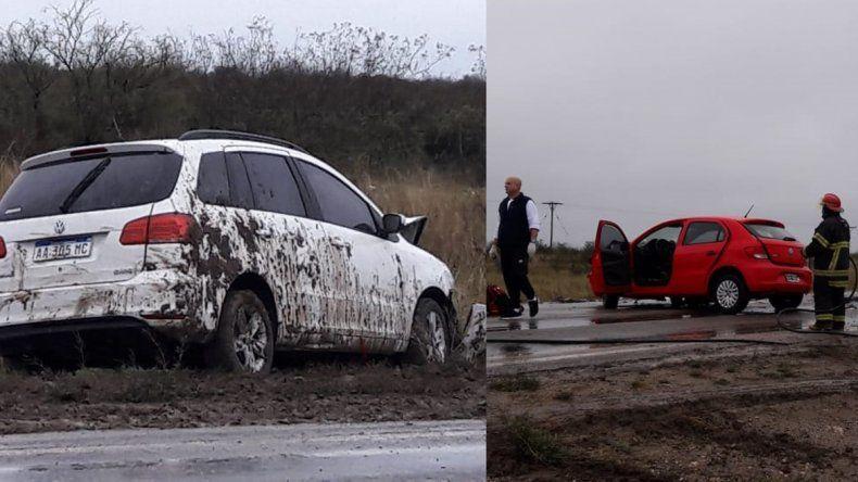 Ruta 22: dos neuquinas resultaron heridas en un choque frontal cerca de Río Colorado