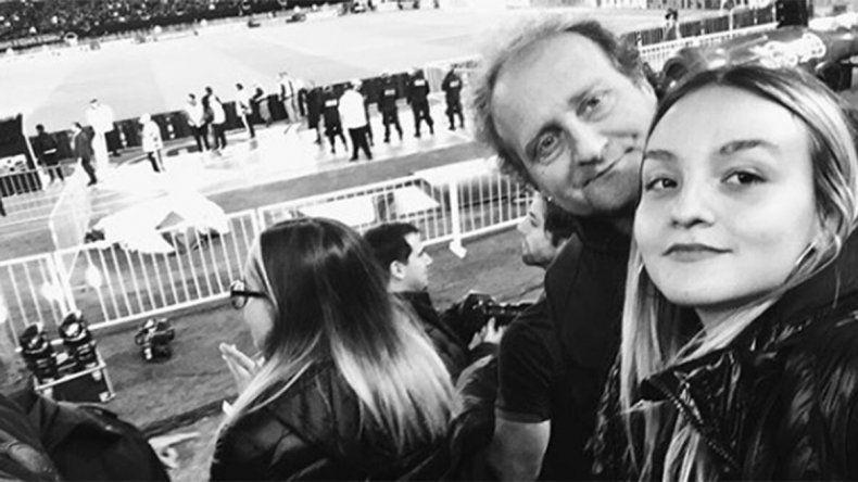 El emotivo posteo de la hija de Sergio Gendler por el Día del Padre