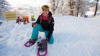 angostura abrio el cerro bayo para peatones pero aun no se esquia