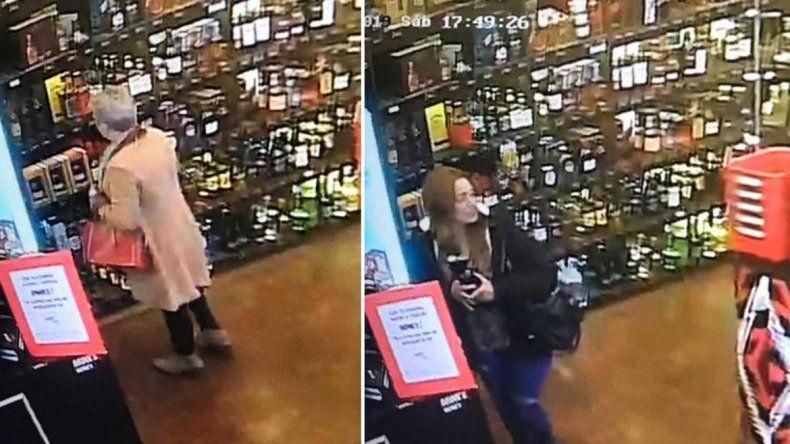 Mecheras de alcohol robaron más de $52.000