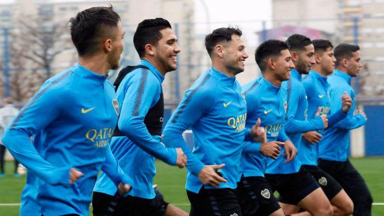 Boca volvió sin Mac Allister pero con Reynoso